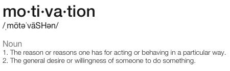 motivation-definition